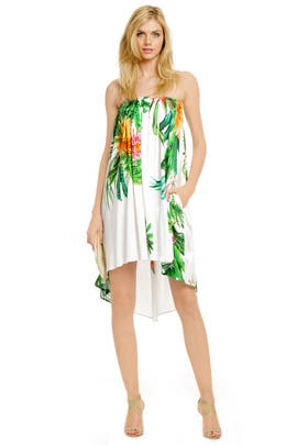 MSGM - Under the Hawaiian Palms Dress