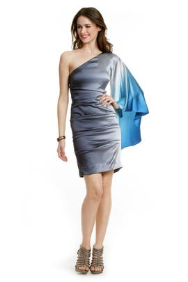 Nicole Miller - Aqua Ombre Dress