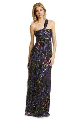 Nicole Miller - Majestic Waters Gown