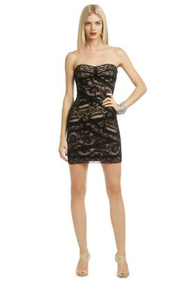 Nicole Miller - Noir Lace Cocktail Dress