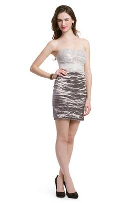 Nicole Miller - Sequin Mochafied Dress