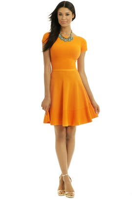 No. 21 - Out Of This World Orange Dress