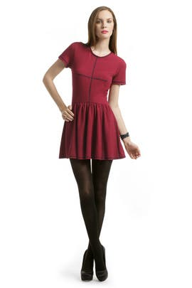 Opening Ceremony - Red Pebble Dress