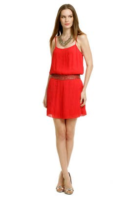 Parker - Red Shock Wave Dress