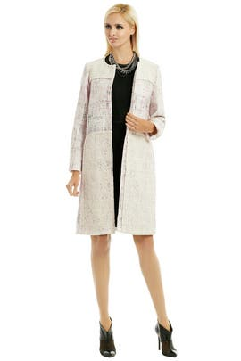 Peter Som - Shimmer Tweed Coat