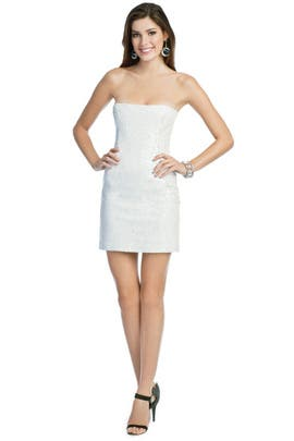 Peter Soronen - White Hot Sequin Dress