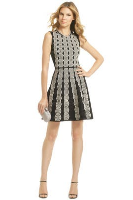 Pink Tartan - Hex in the City Dress