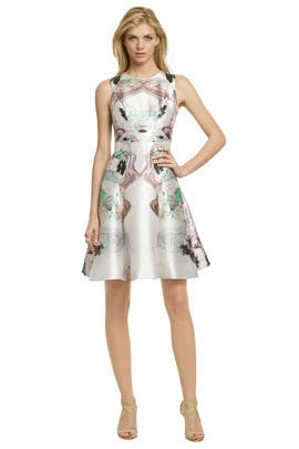 Prabal Gurung - Pastel Floral Fantasy Dress