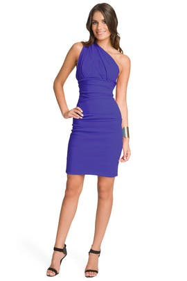 Preen - Blue Violet Cocktail Dress