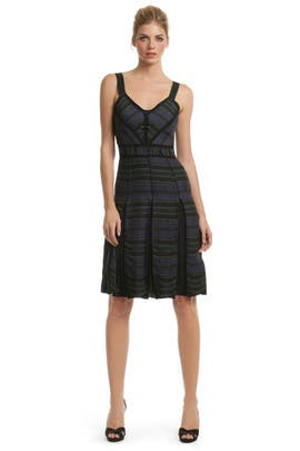 Proenza Schouler - Lara Stripe Panel Dress