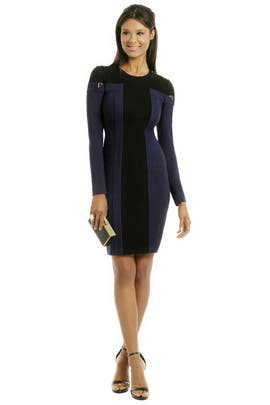 Rachel Roy - Cut Sleeve Dress