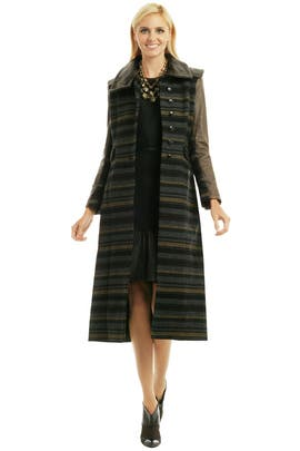 rag & bone - Striped Kutch Coat