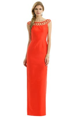 Raoul - Citrus Cherry Twist Gown