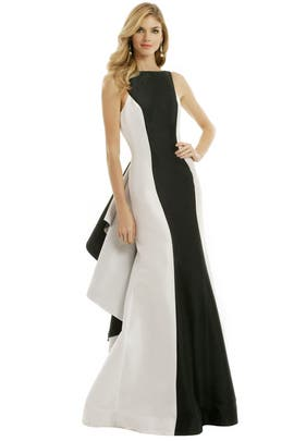 ML Monique Lhuillier - Right On Key Gown