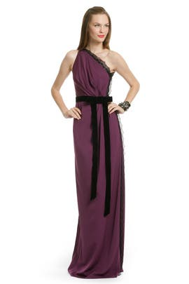 Robert Rodriguez Black Label - Berry Wild Lace Gown