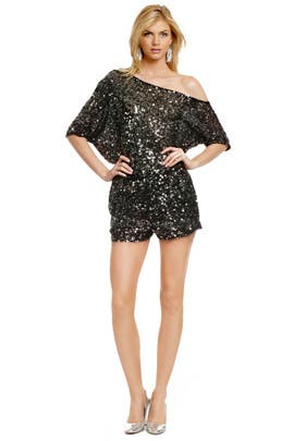 Robert Rodriguez Collection - Sequin Disco Romper