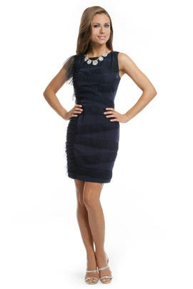 Sachin + Babi - Midnight Tulle Ruffle Dress
