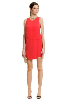 Sachin + Babi - Primary Contrast Zip Dress