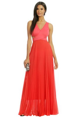 Sachin + Babi - Sky Is On Fire Gown