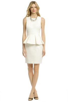 Shoshanna - Alexa Peplum Dress