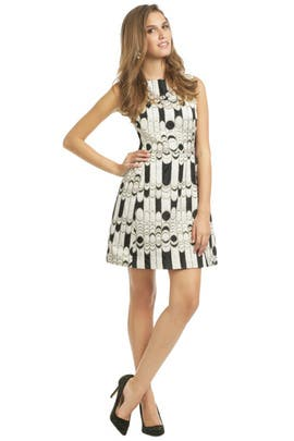 Shoshanna - Chessboard Dress