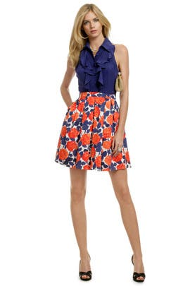 Shoshanna - Dixie Ruffle Dress
