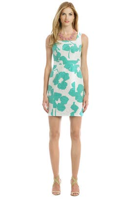 Shoshanna - Floral Francesca Sheath