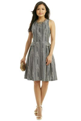 Suno - Side Peplum Pleat Dress