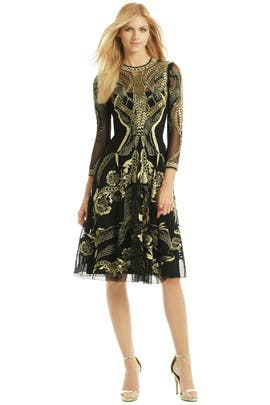 Temperley London - Golden Arc Dress