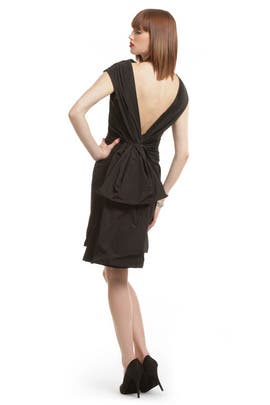 Thakoon - Black Bustle Bombshell Dress