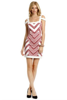 Thakoon - Chevron Chase Dress