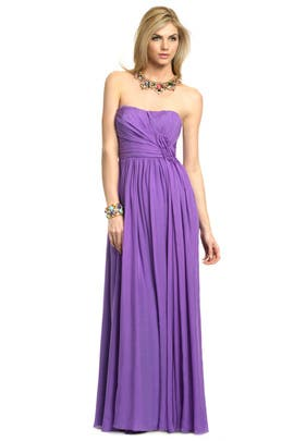 Theia - Purple Iris Gown
