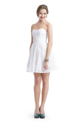 Thread Social - White Eyelet Dress