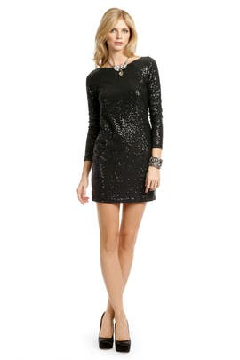 Tibi - Black Zepplin Mini Shift