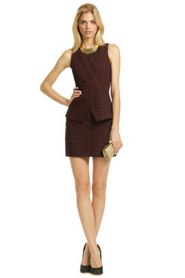 Tibi - Star Grid Sheath