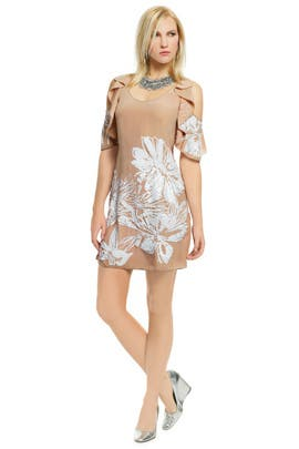 Tracy Reese - Angelic Tigerlily Beaded Shift