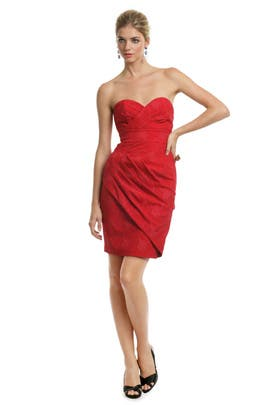 Tracy Reese - Candy Apple Jacquard Dress