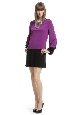 Trina Turk - Orchid Block Shift Dress