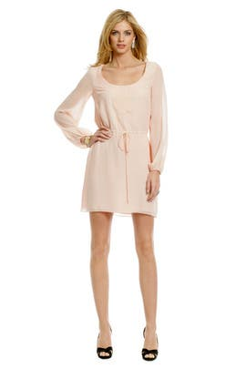 Trina Turk - Pretty Pink Applique Dress