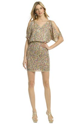 Trina Turk Dress on Trina Turk   Vega Multi Sequin Dress