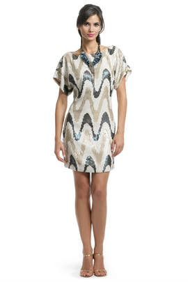 Trina Turk - Zig Zag Sequin Shift