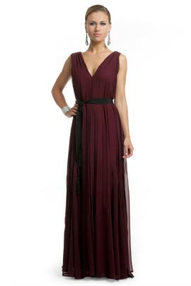 Twelfth Street by Cynthia Vincent - Burgundy Bliss Gown