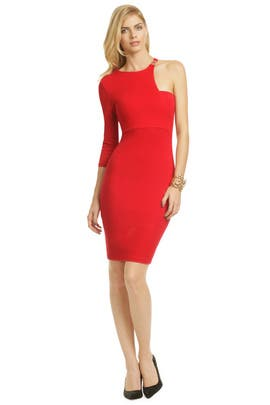Versace Collection - Red Viper Dress