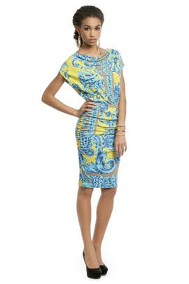 Versace Collection - Mosaic Sundial Dress