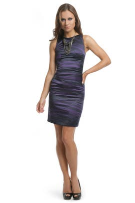 Versus by Versace - Purple Stretch Power Dress