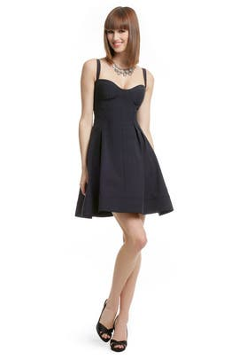 Z Spoke Zac Posen - Navy Flirt and Flare Dress