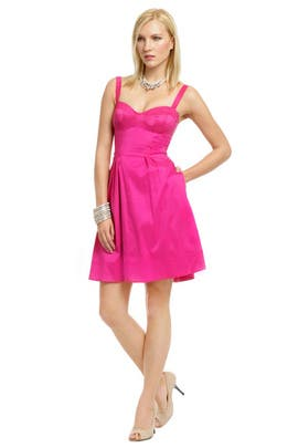 Z Spoke Zac Posen - Pinch of Pink Flare Dress