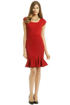 ZAC Zac Posen - Red Snapper Dress