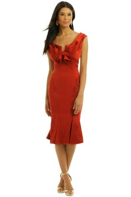ZAC Zac Posen - Cayenne Cocktail Dress