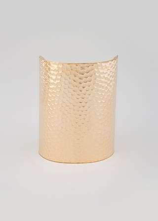 AV Max Gold Hammered Cuff